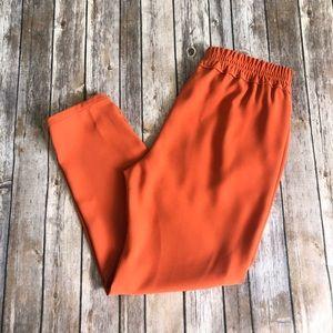 J.Crew Reese Pant Orange Size 6 EUC